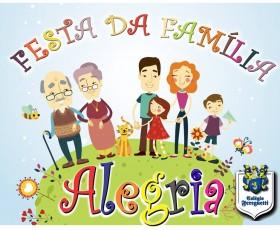 FESTA DA FAMÍLIA 2015  - ALEGRIA