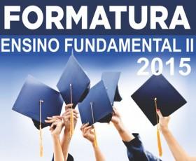 FORMATURA FUNDAMENTAL II 2015