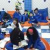 Dinâmica realizada com os alunos do 9º ano F