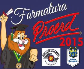 FORMATURA PROERD 2015